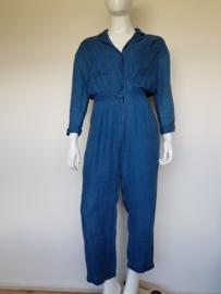 Jumpsuit American Vintage. Mt. L. Blauw/ linnen.