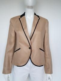 Blazer Mango Suit. Mt. 40. Beige/zwart.