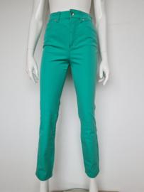 Rosner jeans met hoge taille. Mt. S. Mintgroen.