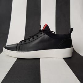 Kenzo K-City sneakers. Mt. 40. Zwart/rood.