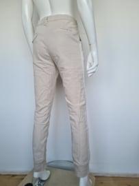 Penn & Ink pantalon. Mt. 40. Beige/streep.