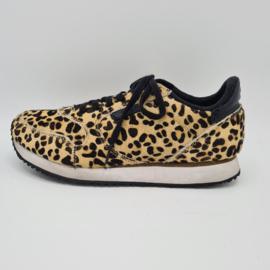 Sneakers Woden Leopard. Mt. 38. Dierenprint.