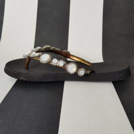 Slippers Pearl Marilyn van Uxurii. Mt. 37/38.