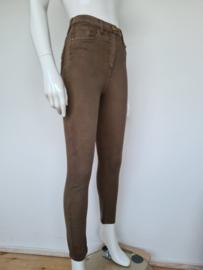 Elisabetta Franchi jeans. Mt. 27. Olijfgroen.