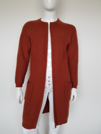 Selected Femme vest. Mt. 40. Roestbruin.