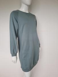 By Bar sweater dress. Mt. L. Ijsblauw.