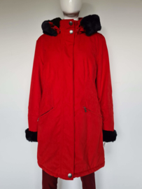 Wellensteyn winterjas. Style Darling. Mt. M. Rood