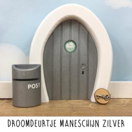 Droomdeurtje Maneschijn Zilver