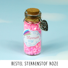 Sterrenstof Roze