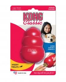 Kong Classic rood Medium