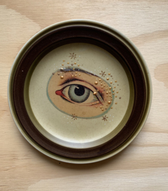 "Sierbordje retrobruin ""Third Eye"""