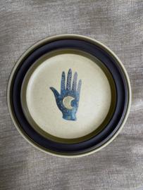 "Sierbordje retrobruin ""Magic Hand"""