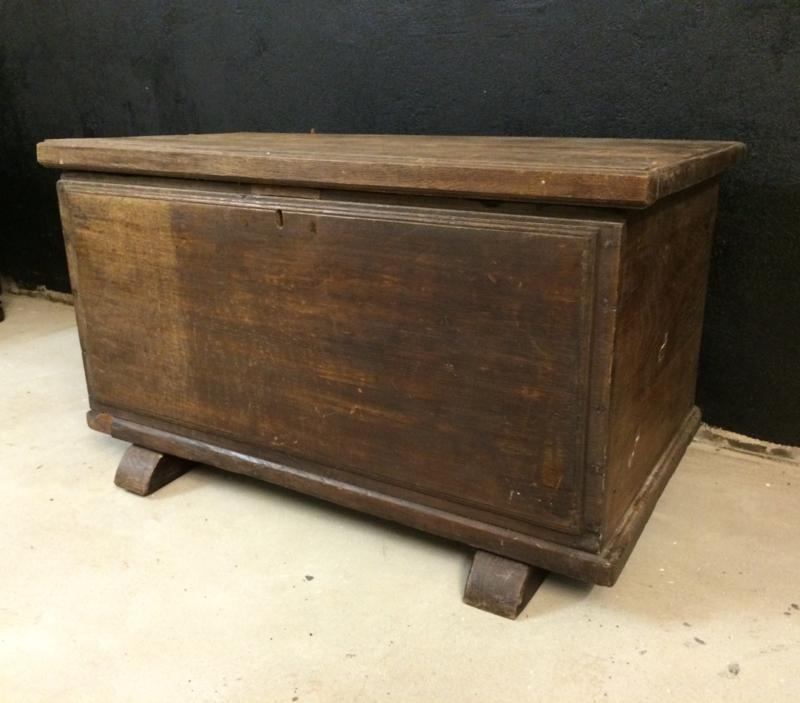 Mooie Houten Box.Antieke Houten Kist Past Ook Mooi Bij Riviera Maison Driftwood