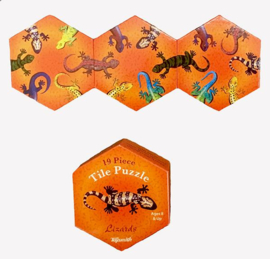 BB 04 ( animal tile puzzle lizards )