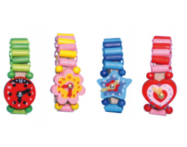 H 024 ( kids wooden watch )