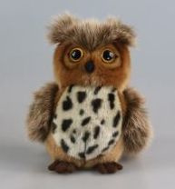 IN 008 ( plush owl Lilly )