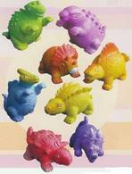 AM 396 ( water squirter colorful dinosaur ) ----- 24 pcs in display