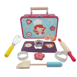 H 068 ( baking playset suitcase )
