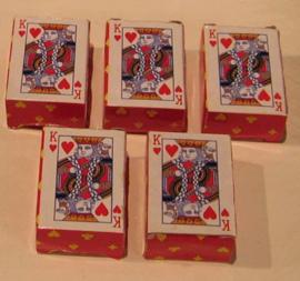 YW 011 ( mini playing cards )