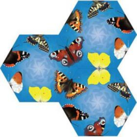 BB 04 ( animal tile puzzle butterflies )