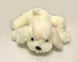 IN 002 ( plush white puppy )