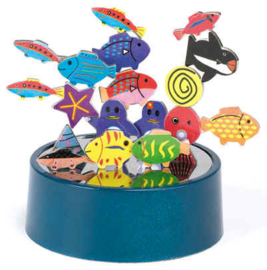 GM 0057 ( magnetic sculptures sea life )