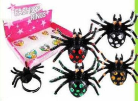 ER 03 ( spider ring ) ----- 24 pcs in display
