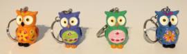 FU 001 ( key chain owl lilly ) ----- 12 pcs in display