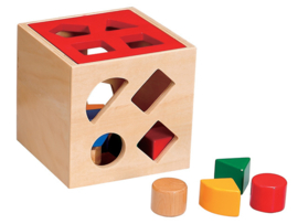 H 012 ( wooden shape posting box )