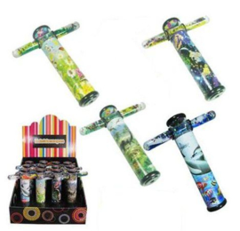 GA 020 ( liquid motion kaleidoscope with 4 design assorted ) ----- 12 pcs in display
