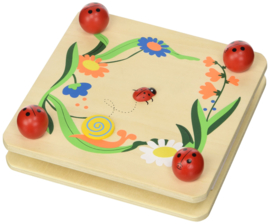 H 011 ( wooden flower pressing board )