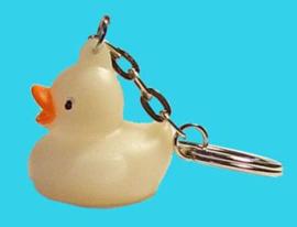 BW 1184 ( mini glow duck with key chain )