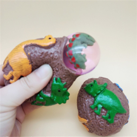 BB 12 ( squeeze & stress dino egg ) ----- 12 pcs in display