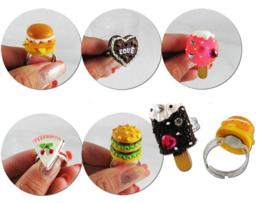 ER 02 ( snack ring ) ----- 24 pcs in display