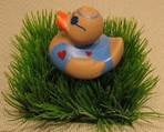 BW 1459 ( water squirter duck with sun glass )