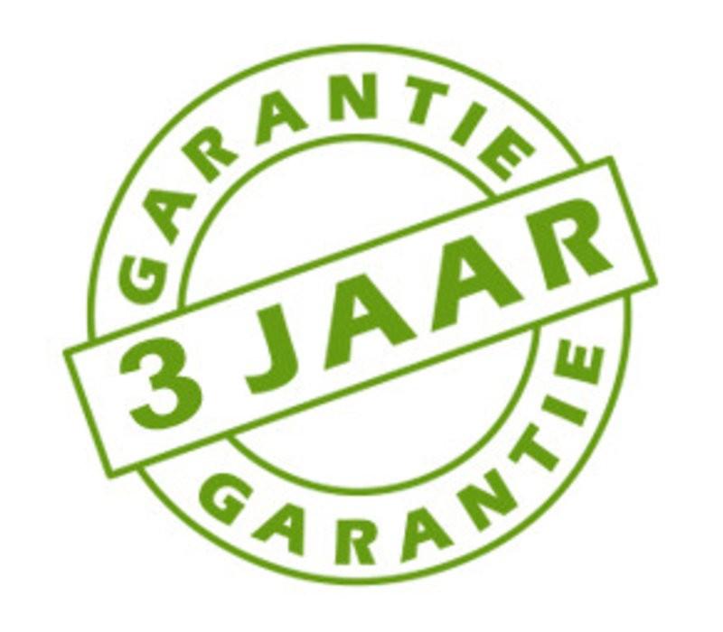 Garantie van 2 naar 3 jaar