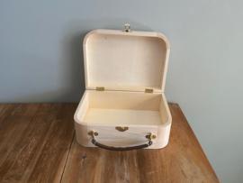 Speelgoed koffertje van hout