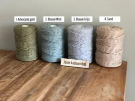 Naambordje van hout | Pijlen