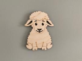 Houten figuur schaap