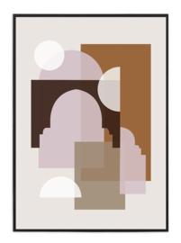 A3 Poster - Marrakech  - Beige