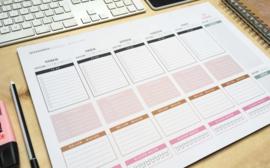Deskplanner A3