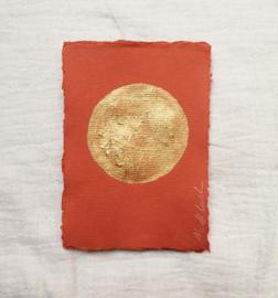 Volle maan  - Terra/goud - A6