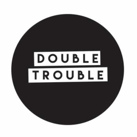 Sluitstickers - double trouble  - per 10