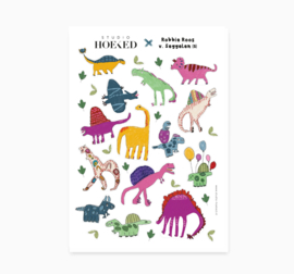 Stickervel || Dino's