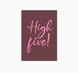 Ansichtkaart || High Five