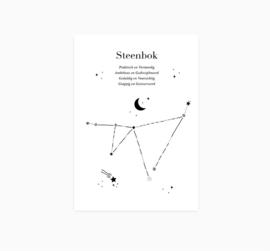 Ansichtkaart || Sterrenbeeld || Steenbok