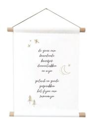 Kerst - Textielposter - Samenzijn - 60 x 45