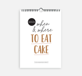 Verjaardagskalender - When & where to eat cake