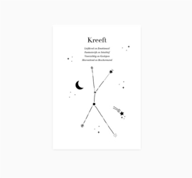 Ansichtkaart || Sterrenbeeld || Kreeft