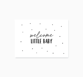 Ansichtkaart || Little Baby